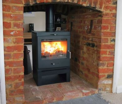 Bohemia X60 Cube Double sided, multi-fuel stove