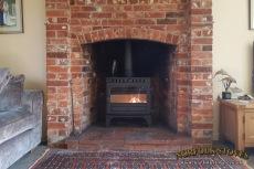 Hunter Herald 8 Slim-line, Wood burner, Single Door