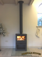 Heta Inspire 55 Multifuel Stove on stand
