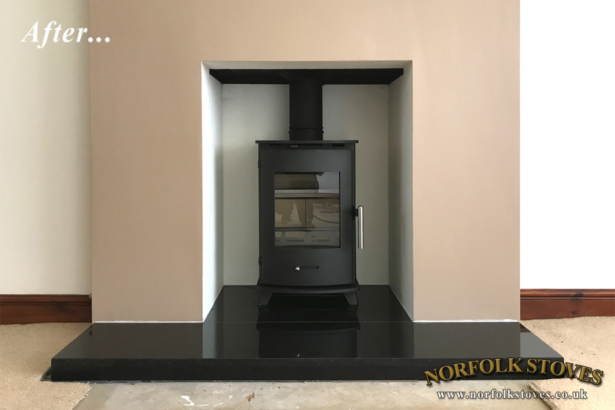 Newbourne 35FS, multi-fuel stove