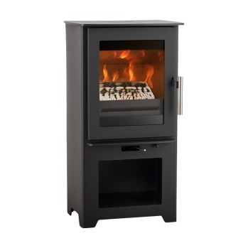 Heta Inspire 40 Multifuel stove on stand
