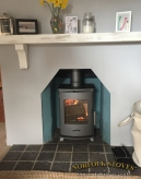 Newbourne 35FS, multi-fuel stove