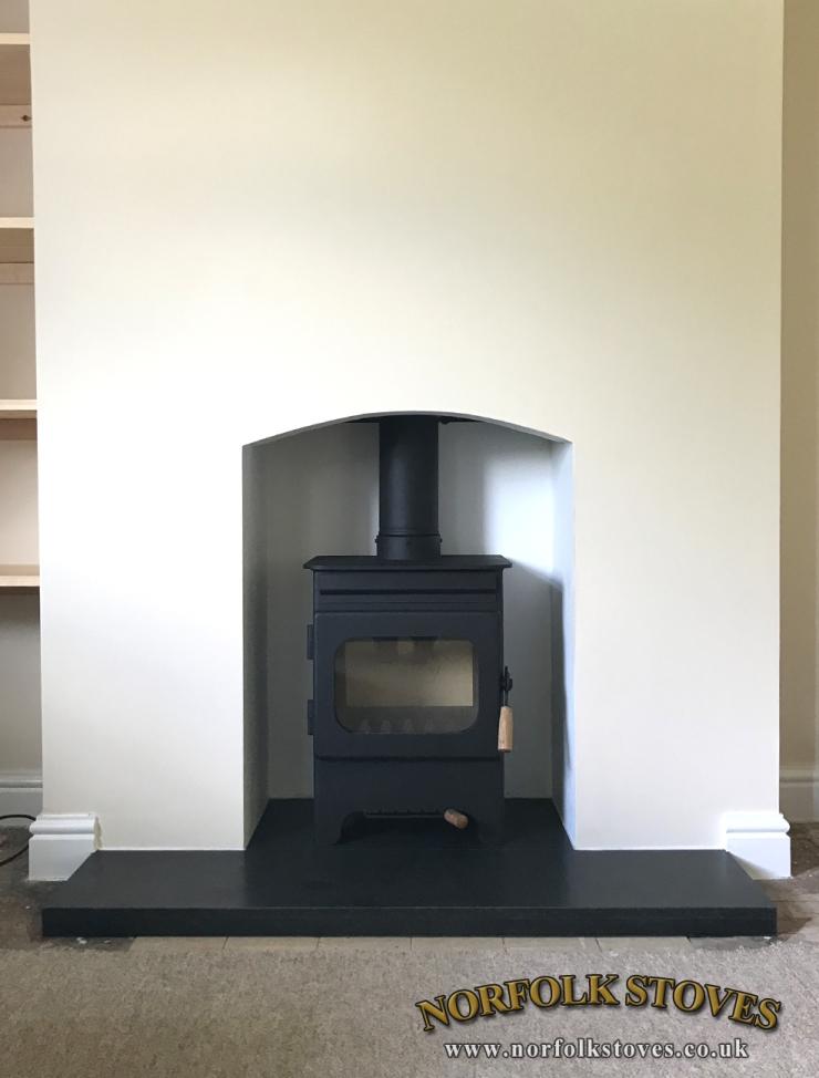 Burley Hollywell, wood burner