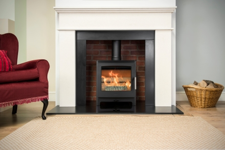 Heta Ambition 5 on 20mm Polished Granite Hearth