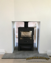 Double Sided Bohemia Multifuel Stove
