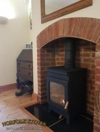 Burley Hollywell Wood Burner