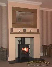 Clearview Pioneer 400 Multifuel Stove