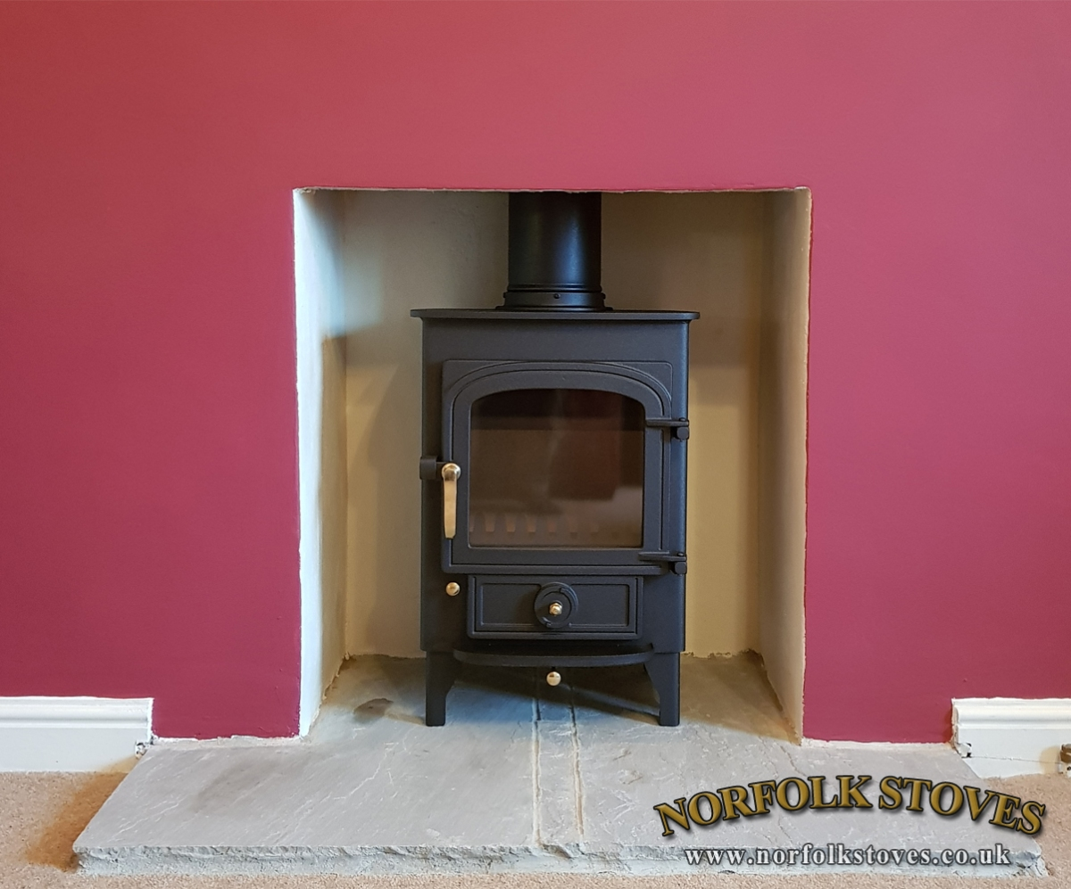 Clearview Pionner400 Multifuel Stove
