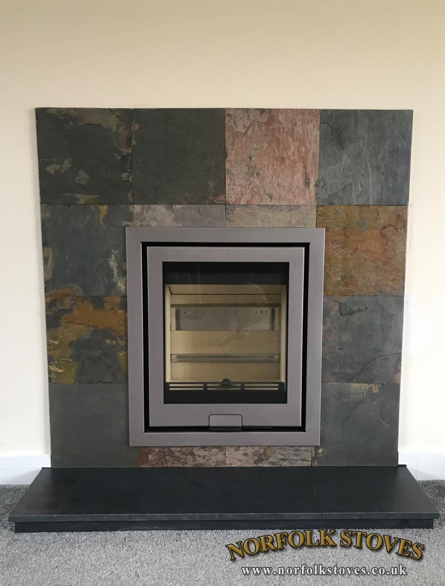 Di Lusso R5 Inset Wood Burner