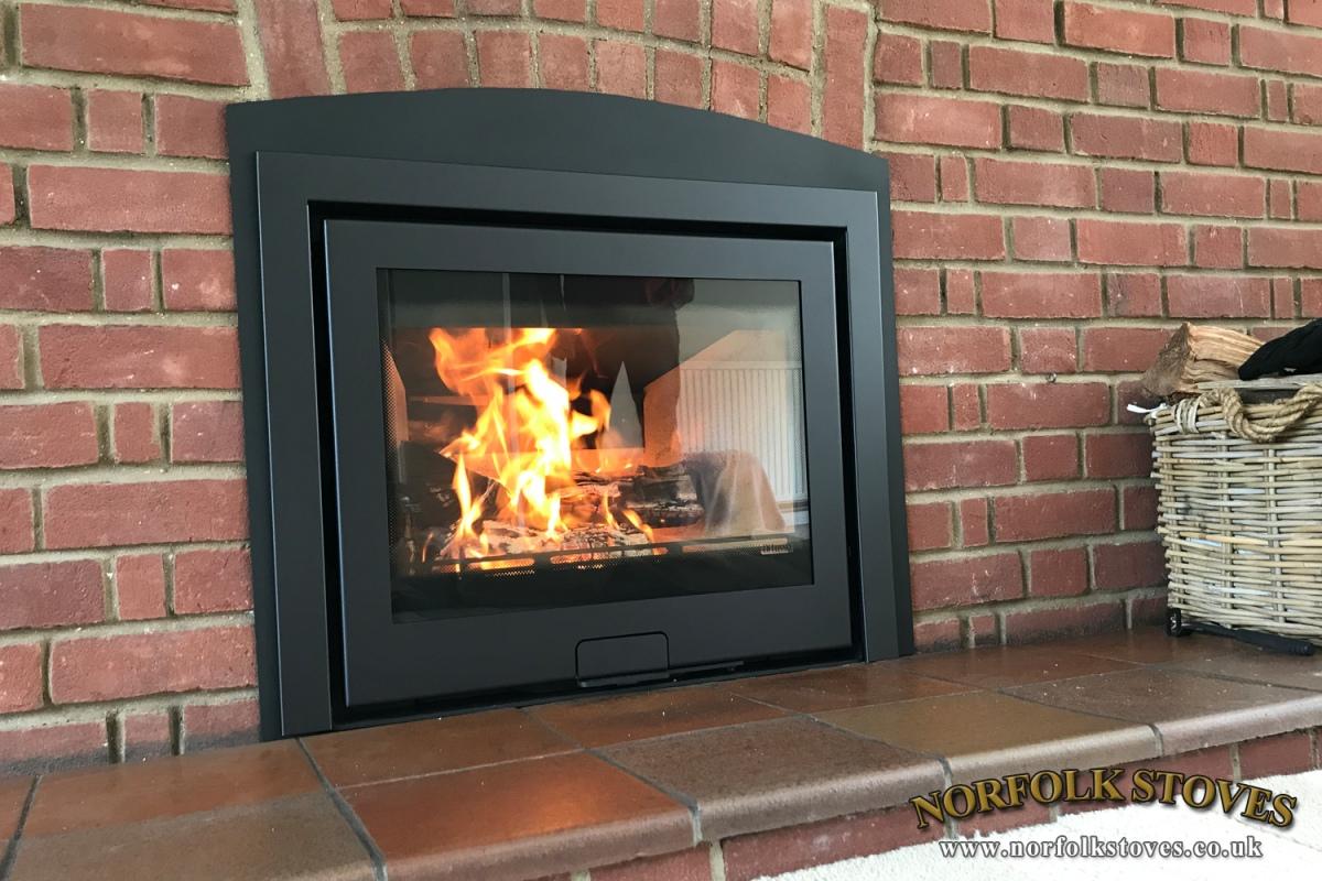 Di Lusso R6 Inset Wood Burner