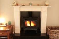 Hunter-Herald-8-Wood-Burner-Agean-Limestone-Surround