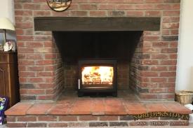 Parkray-Aspect-7-Brick-Fireplace-Wood-Beam