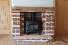Parkray-Consort-15-Wood-Burner-Beam-Remodel
