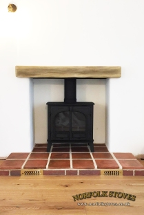Stovax-Stockton-8-Slimline-Light-Oak-Geocast-Beam